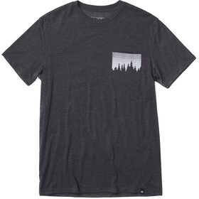 tentree Juniper Pocket T-shirt Heren, meteorite black